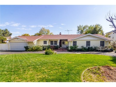Granada Hills Single Family Home Active Under Contract: 17928 Lahey Street