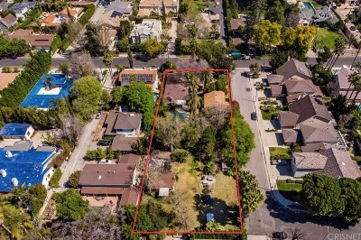 Encino Single Family Home For Sale: 4915 Gloria Avenue