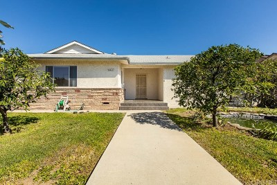 Granada Hills Single Family Home For Sale: 16637 Chatsworth Street