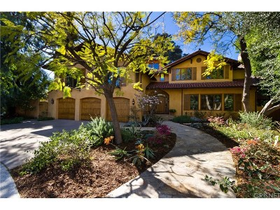 Encino Single Family Home For Sale: 17425 Cumpston Street