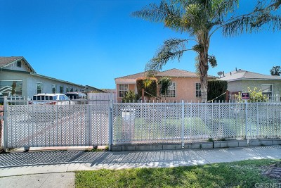 Los Angeles Single Family Home For Sale: 706 East 97th Street