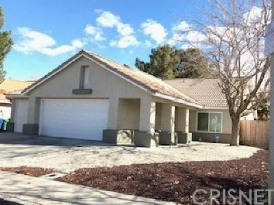 Lancaster Single Family Home For Sale: 43516 Urbana Lane