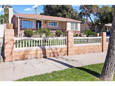 San Fernando Single Family Home For Sale: 1939 Chivers Street