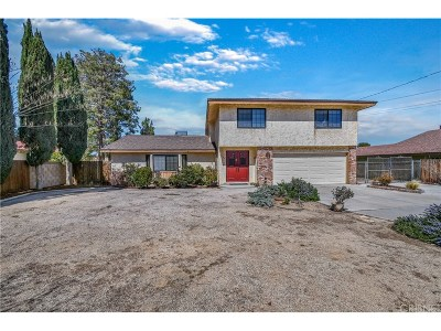 Los Angeles County Single Family Home For Sale: 4757 West Avenue K12