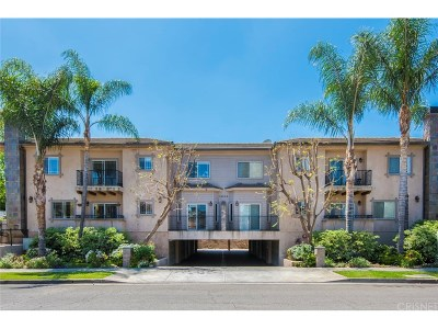 Sherman Oaks Condo/Townhouse For Sale: 14544 Margate Street #7