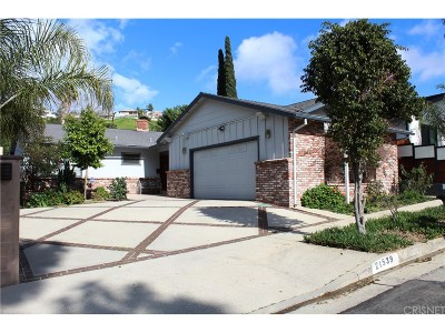 Woodland Hills Single Family Home For Sale: 21539 Mulholland Drive