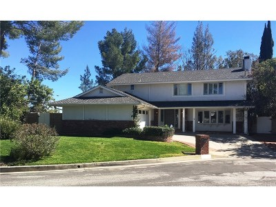 Chatsworth Single Family Home For Sale: 22130 Sonoma Place