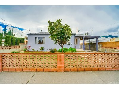 Single Family Home For Sale: 15625 La Mesa Street