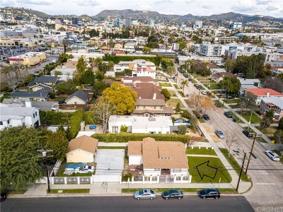 Los Angeles Single Family Home For Sale: 5651 Clinton Street