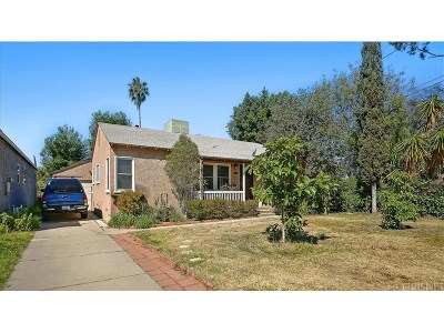 Valley Village Single Family Home For Sale: 5627 Carpenter Avenue