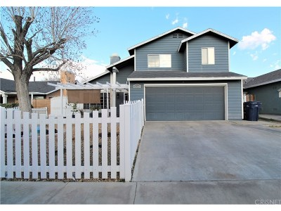 Palmdale Single Family Home For Sale: 37514 Laurel Court