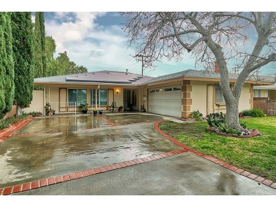 Canyon Country Single Family Home Active Under Contract: 19455 Newhouse Street