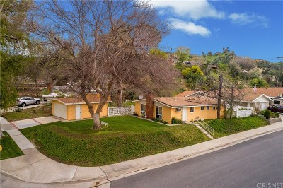 Saugus Single Family Home For Sale: 22540 Guadilamar Drive