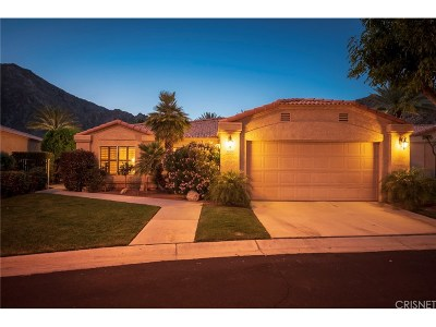 La Quinta Single Family Home For Sale: 48551 Via Encanto
