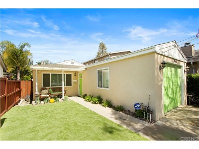 Sunland Single Family Home For Sale: 8525 Apperson Street