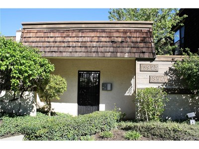 Sherman Oaks Condo/Townhouse Active Under Contract: 13945 Riverside Drive
