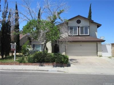 Palmdale Single Family Home For Sale: 36883 Santolina Drive