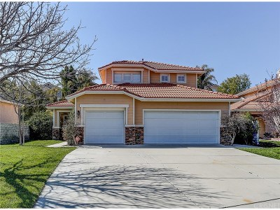 Stevenson Ranch Single Family Home For Sale: 25747 Burroughs Place