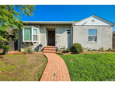 Single Family Home For Sale: 15153 Burton Street