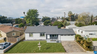 Panorama City Single Family Home Active Under Contract: 8605 Tyrone Avenue