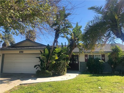 Simi Valley Single Family Home For Sale: 1650 Ona Circle