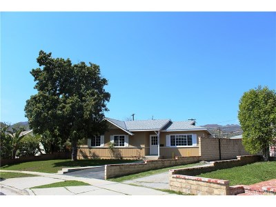 Chatsworth Single Family Home For Sale: 21733 Tuba Street