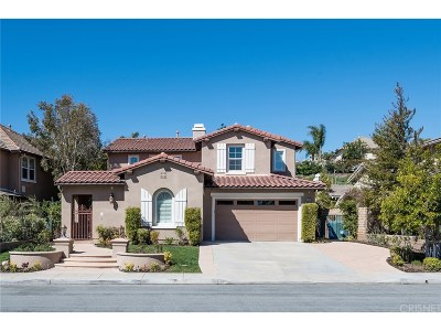 Simi Valley Single Family Home For Sale: 3489 Sweetgrass Avenue