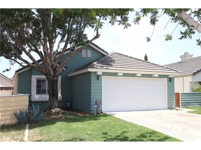 Palmdale Single Family Home For Sale: 2057 Chatham Drive
