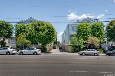 Sherman Oaks Condo/Townhouse For Sale: 5324 Kester Avenue #7