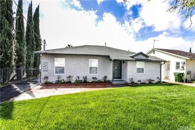 Single Family Home For Sale: 13810 Calvert Street