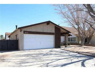 Lancaster Single Family Home For Sale: 44620 Benald Street