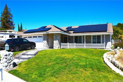 Saugus Single Family Home For Sale: 20747 Benz Road