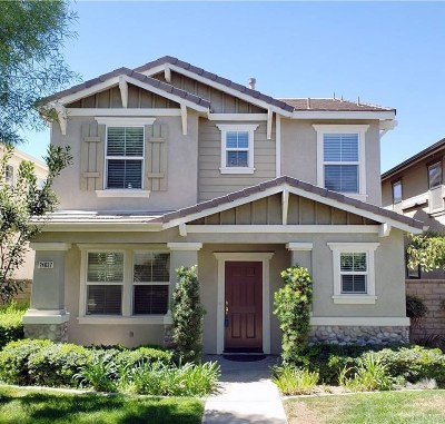 Valencia Single Family Home Active Under Contract: 24037 Whitewater Drive