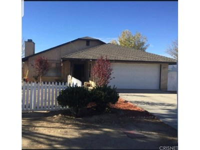 Lancaster Single Family Home For Sale: 40659 174th Street East