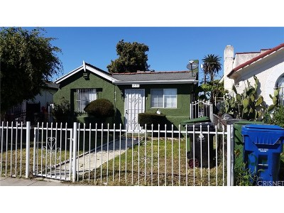 Los Angeles Single Family Home For Sale: 1531 West 59th Place