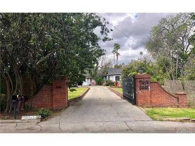 Encino Single Family Home For Sale: 5115 Encino Avenue