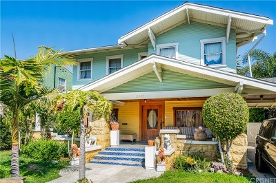 Los Angeles Single Family Home For Sale: 2357 West 21st Street