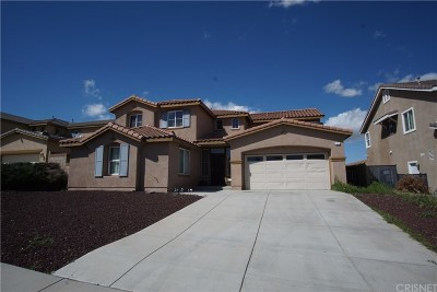 Palmdale Single Family Home For Sale: 765 Celtic Drive