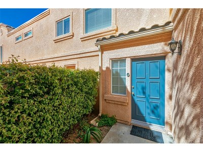 Stevenson Ranch Condo/Townhouse Active Under Contract: 25210 Steinbeck Avenue #G