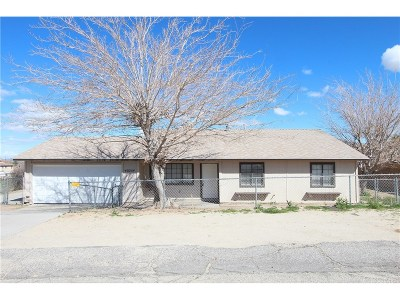 Palmdale Single Family Home For Sale: 40254 161st Street East