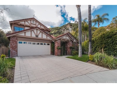 Stevenson Ranch Single Family Home Active Under Contract: 25329 Irving Lane
