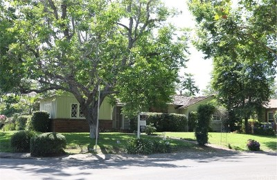 Valley Village Single Family Home For Sale: 5103 Beeman Avenue