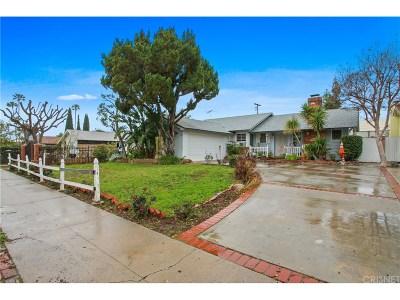 Canoga Park Single Family Home For Sale: 8051 Variel Avenue