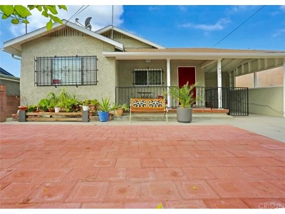 Los Angeles CA Single Family Home For Auction: $549,000