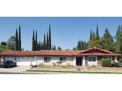 Northridge Single Family Home Active Under Contract: 18901 Harnett Street
