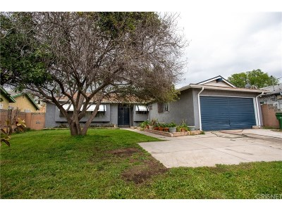 Pacoima Single Family Home For Sale: 11218 Borden Avenue