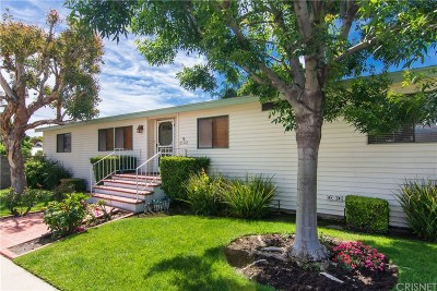 Newhall Single Family Home For Sale: 25172 Fourl Road