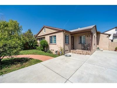 Van Nuys Single Family Home For Sale: 15039 Friar Street