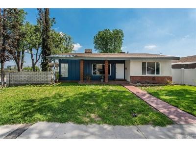 Granada Hills Single Family Home Active Under Contract: 10458 Petit Avenue