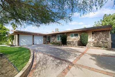 Woodland Hills Single Family Home Active Under Contract: 5924 McDonie Avenue